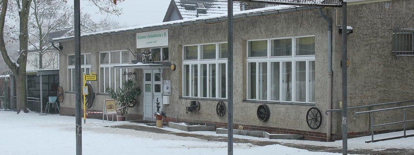 Räumlichkeiten des Rudower Heimatvereins