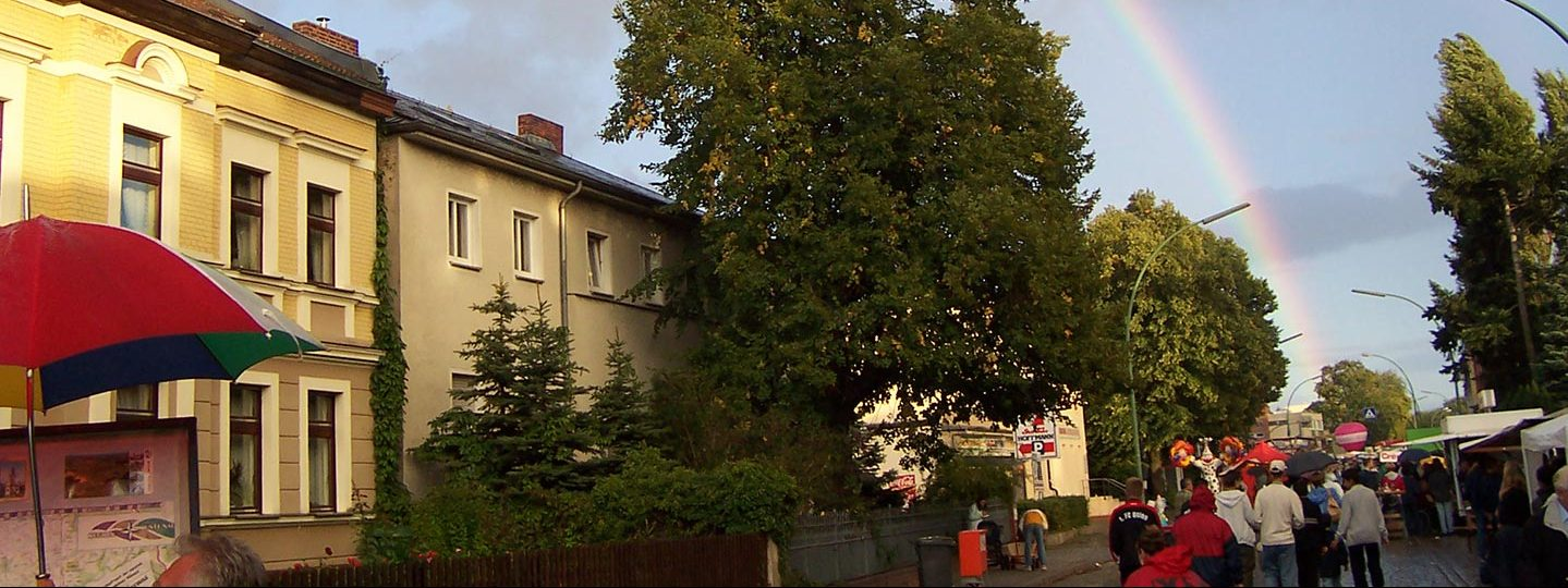 Regenbogen über Alt-Rudow